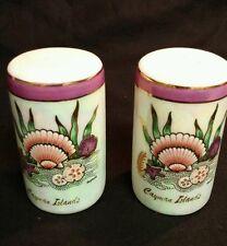 Vintage Mug Salt & Pepper Shakers Cayman Islands