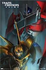 TRANSFORMERS ~ PRIME 22x34 COMIC POSTER Optimus Bumblebee IDW  Book Cartoon