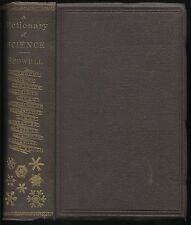 A DICTIONARY OF SCIENCE Ed. Rodwell, Library of Richard Evelyn Byrd, Sr., 1886