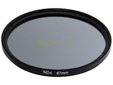 67mm. Filtro neutral density ND 4. ND4 filter.
