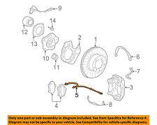 PORSCHE OEM 06-08 Cayman Front Brake-Disc Pad Wear Indicator Sensor 99761275500