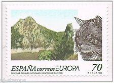 1999 Spanje 3462 Europa CEPT Nationale parken