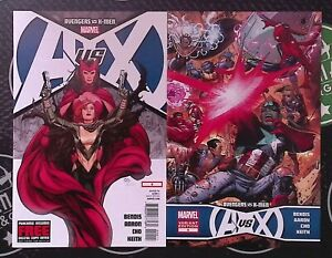 Avengers vs. X-Men 2012 #0-12 + Variants Marvel Comics Captain America Wolverine