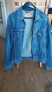 Levi Strauss Jeansjacke Gr. XL Schwarz RAR Vintage Jacke Jeans Kult TOP Zustand