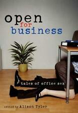 NEW BOOK Open for Business: Tales of Office Sex by Alison Tyler (Paperback)