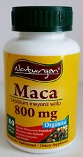 ORGANIC MACA 800 mg NATURAL ENERGY SEXUAL ENHANCER