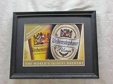 WEIHENSTEPHANER PILSNER BEER SIGN  #1276