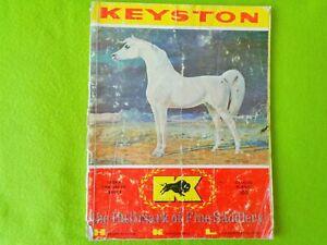 KEYSTON Bros Vintage 1973 CATALOG~Sterling Silver Trim~SADDLE~BRIDLE~BIT~SPUR~NR
