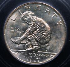 1925 S CALIFORNIA COMMEM ICG MS 65 NICE AND ORIGINAL WITH EXCELLENT GEM LUSTER