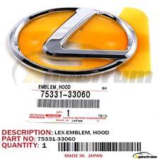 LEXUS ES300/330 FACTORY OEM 75331-33060 NEW FRONT HOOD GRILL LOGO BADGE EMBLEM