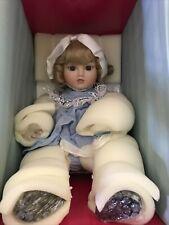 Marie Osmond Doll Baby Steiner #157/500 w/box, bracelet & cert. New In Box