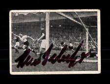 Hans Schäfer DFB Kiddy Sammelbild WM 1954 Original Signiert+ A 150244