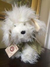 Boyds Bears Shaggy Plush Standing Dog Marshmallow Goldendoodle