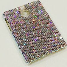 AB Rhinestone Bling Back Case for BlackBerry Passport Silver w/Swarovski Crystal