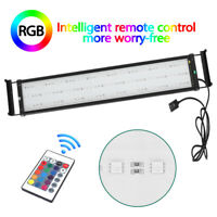 "20"" 29"" 35"" 46"" RGB Dimmable Full Spectrum LED Aquarium Light Reef Coral Marine"