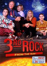 3RD ROCK FROM THE SUN THE COMPLETE 1ST SEASON (DVD, 2011, 2-) DAY U PAY IT SHIPS