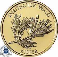 Deutscher Wald: Kiefer 20 Euro Goldmünze Deutschland 2013 Stempelglanz Mzz F