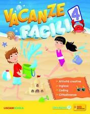 vacanze facili 4° + narrativa, Liciani Scuola, libro vacanze classe 4°