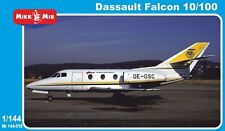 1:144 Mikro Mir #144-018 - Dassault Falcon 10/100 (PE parts), 2 kits in box NEU!