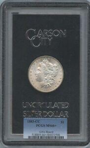1883-CC Morgan Dollar $1 GSA Hoard PCGS MS66+