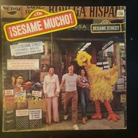 "Sesame Street ""Sesame Mucho"" RARE Vinyl Record LP in SPANISH"