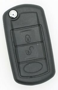 Remote Key Fob Shell Case For Land Rover Range Rover Sport Discovery 3 Button
