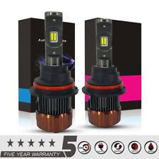 Car LED 9007 HB5 Headlight Kit Light Dual HI/LO Beam Driving Bulbs 12000LUM 60W