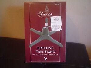 Trimming Traditions Rotating Tree Stand – NIB