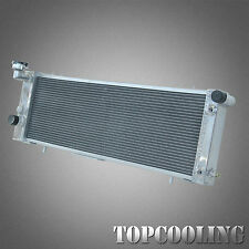 2 Row Aluminum Radiator For Jeep Cherokee XJ 4.0L Right Hand Drive 94-01 AT/MT