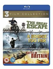CLASSIC WAR - A BRIDGE TOO FAR / THE GREAT ESCAPE / BAT - BLU-RAY - REGION B UK