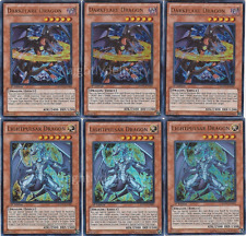 Yugioh Complete Chaos Dragon Deck! Black Luster Dark Armed Scarl **HOT** + Bonus