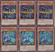 Yugioh Complete Chaos Dragon Deck! Black Luster Dark Armed Scarl HOT + Bonus