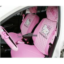 Hello Kitty Ribbon Seat Covers (2 front seat covers)