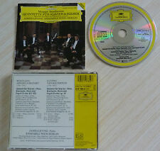 CD MOZART & BEETHOVEN QUINTETTE FUR KLAVIER & BLASER 6 TITRES 1987
