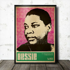 Bessie Smith Blues Art Poster Howlin' Wolf Lead Belly Muddy Waters