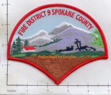 Washington - Spokane Fire District 9 WA Fire Dept Patch