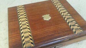 Small Antique inlaid Box  ,
