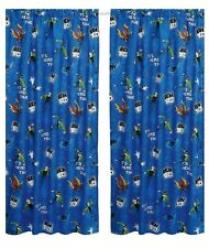 Ben 10 'Universe' 66 X 54 Inch Drop Curtain Pair Brand New Gift