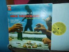 Mikis THEODORAKIS: His most beautiful songs (Birbili...) / Z stereo Italy LP VG+