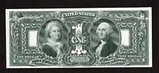 New listing Proof Print or Intaglio by Bep - Back of 1896 $1 Educational Silver Certificate