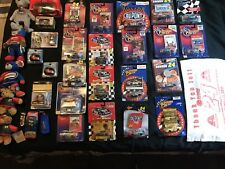jeff gordon 34 Piece Lot 1/64 diecast cars Helmets And Other Misc Items