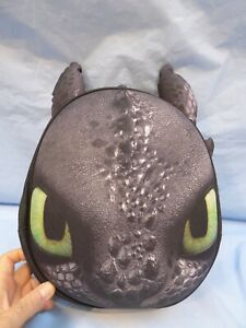 Official How to Train Your Dragon Hidden World Toothless Kids 3D Backpack + Gift