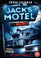 Jack's Motel DVD (2013) Corey Feldman ***NEW***