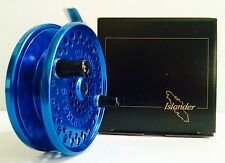 ISLANDER STEELHEADER CENTERPIN FLOAT REEL (BLUE with BLACK HANDLES) **NEW**