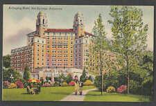 PPC #G75* GOOD POSTCARD ARLINGTON HOTEL HOT SPRINGS AR UNPOSTED
