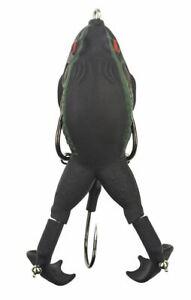 "Lunkerhunt PROPF06 Texas Toad 3.5"" Prop Frog 1/2oz Topwater Fishing Lure"