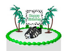 Soccer Cleats Deluxe Cake Decoration Topper New