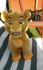 VINTAGE Disney The Lion Simba con Hard King faccia