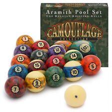 "Aramith Camouflage Billiard Pool Ball set 2 1/4"""