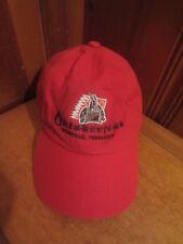 Oktoberfest Nashville TN Red Embroidered Baseball Hat Cap Adjustable Buckle EUC
